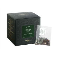 Dammann® The Vert au Jasmin Tea Sachets - 25 Sachets Per Box - illy