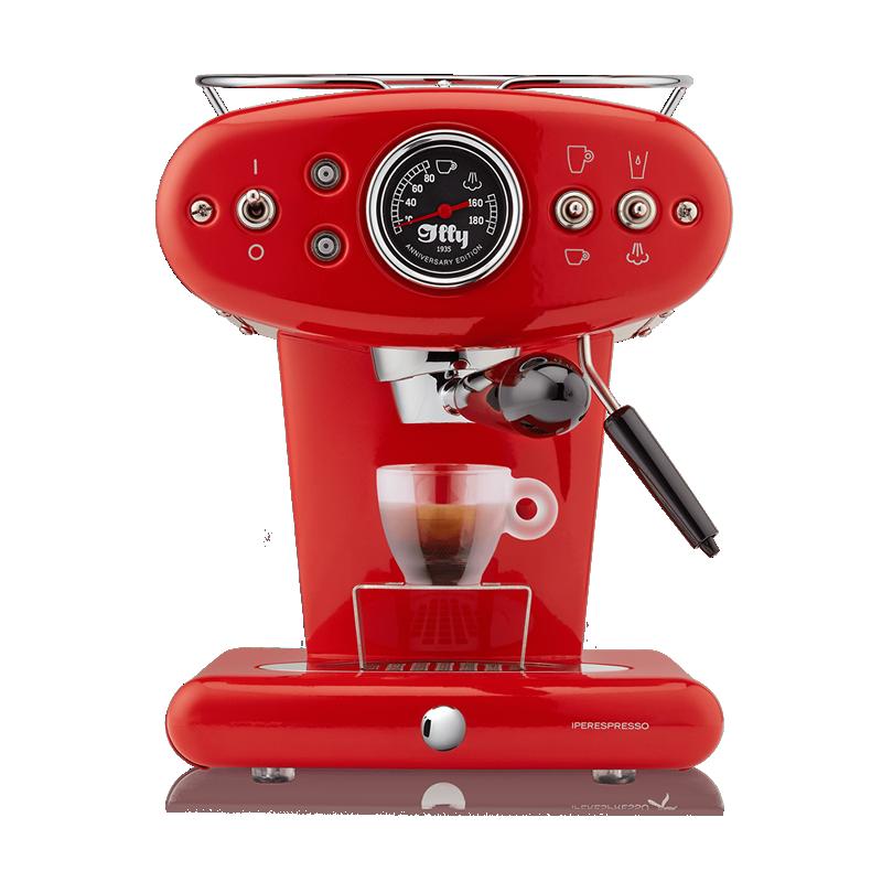 X1 Anniversary - Macchina da Caffè Iperespresso rossa