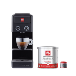 *COMBO* Máquina de Café illy Y3 Preta 120v + 1 lata de cápsula iperespresso