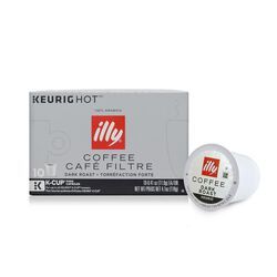 K-Cup® Pods - Extra Dark Roast - 10 K-Cup® Pods - illy