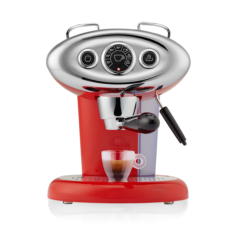 Espresso & Coffee Machine - X7.1 iperEspresso Red