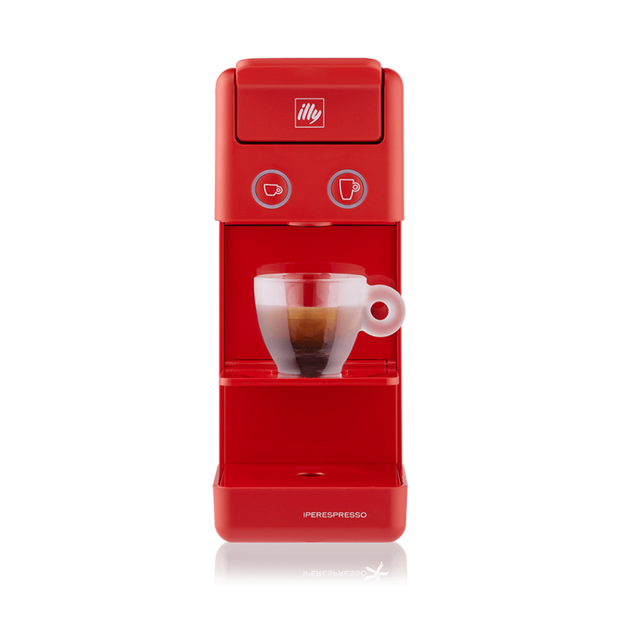 Y3.2 iperEspresso Espresso & Coffee Machine - Red