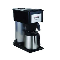 Bunn Velocity Brew Filter Coffee Maker 10-Cup Front View