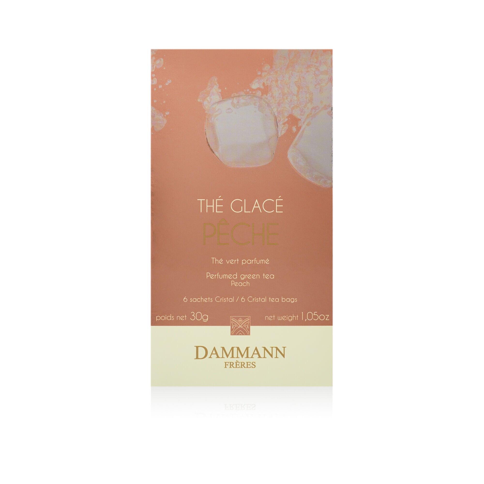 Tè freddo Dammann Pêche - 6 filtri cristal