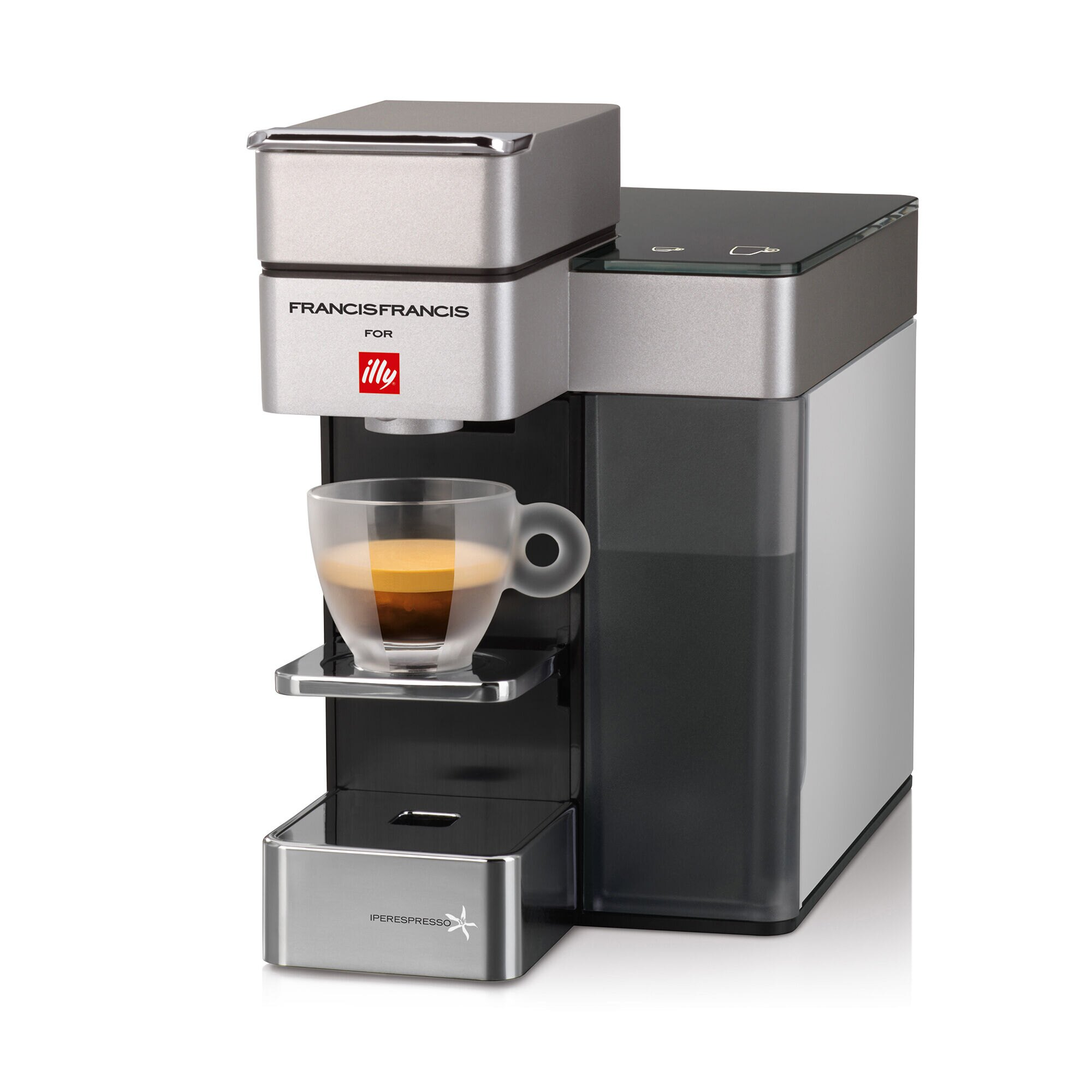y5 iperespresso espresso coffee machine illy eshop. Black Bedroom Furniture Sets. Home Design Ideas