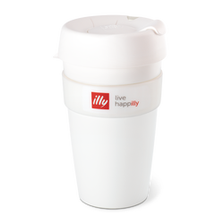 Live HAPPilly KeepCup - White