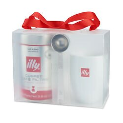 illy Drip Coffee Time Gift Set Front View