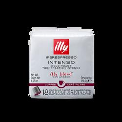 Café illy Cápsula Iperespresso Coado Intenso - 18 un