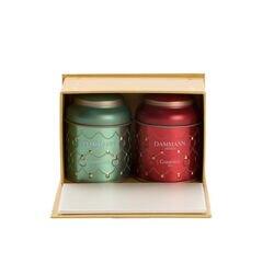 Coffret Réveillon - 1 Geschenkset mit je 30g Christmas Tea (aromatisierter schwarzer Tee) und Christmas Tea Vert (aromatisierter grüner Tee)