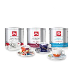 Kit cápsulas Iperespresso con 4 tazas illy Art Collection