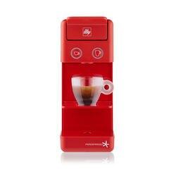 *COMBO* Máquina de Café illy Y3.2 120v Vermelha + 6 latas de Café illy Cápsula iperEspresso