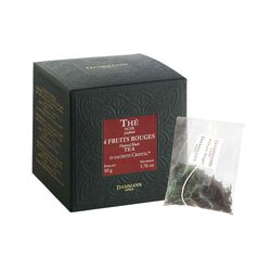 Dammann® Four Fruits Rouges Tea Sachets Box front view