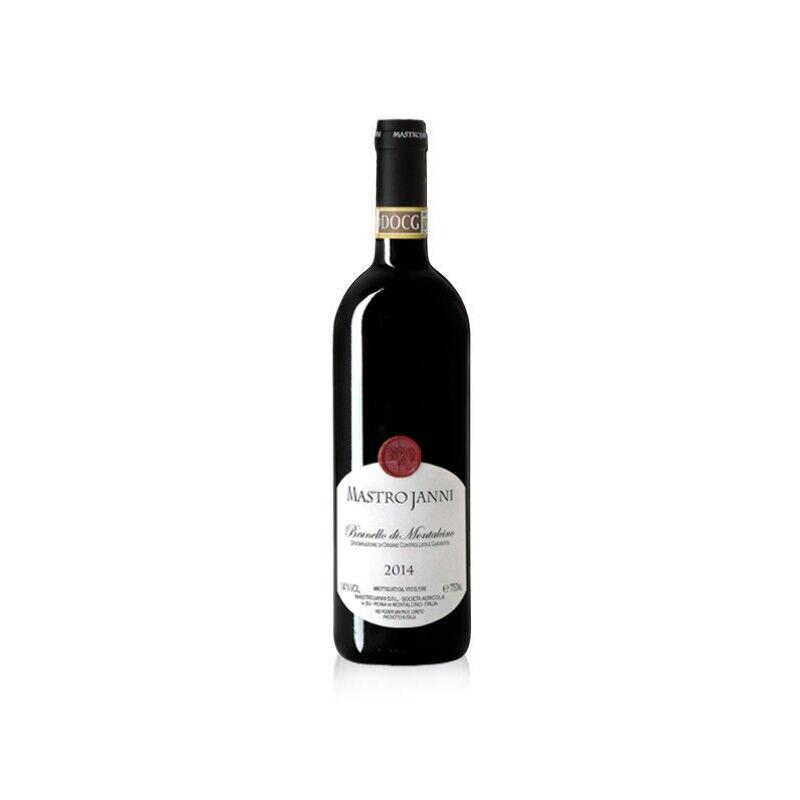 Vino Brunello di Montalcino Mastrojanni annata 2014 in bottiglia da 750ml