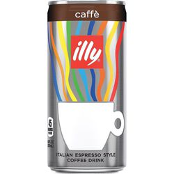 illy Ready to Drink Coffee front view. illy eShop.