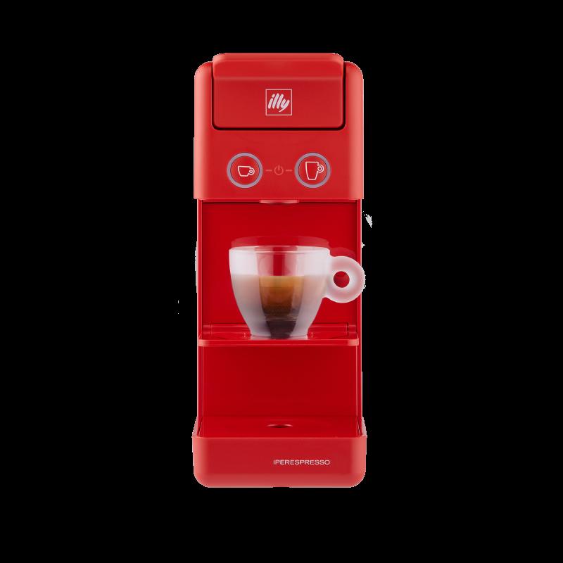 Y3.3 Espresso&Coffee - Macchina da Caffè Iperespresso rossa
