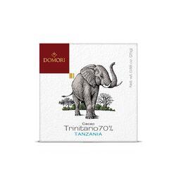 Tavoletta di cioccolato Domori Single Origin Trinitario 70% Tanzania da 25gr
