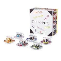 EMILIO PUCCI - 6 espresso koffiekopjes