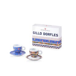 Gillo Dorfles Set of 2 Cappuccino Cups