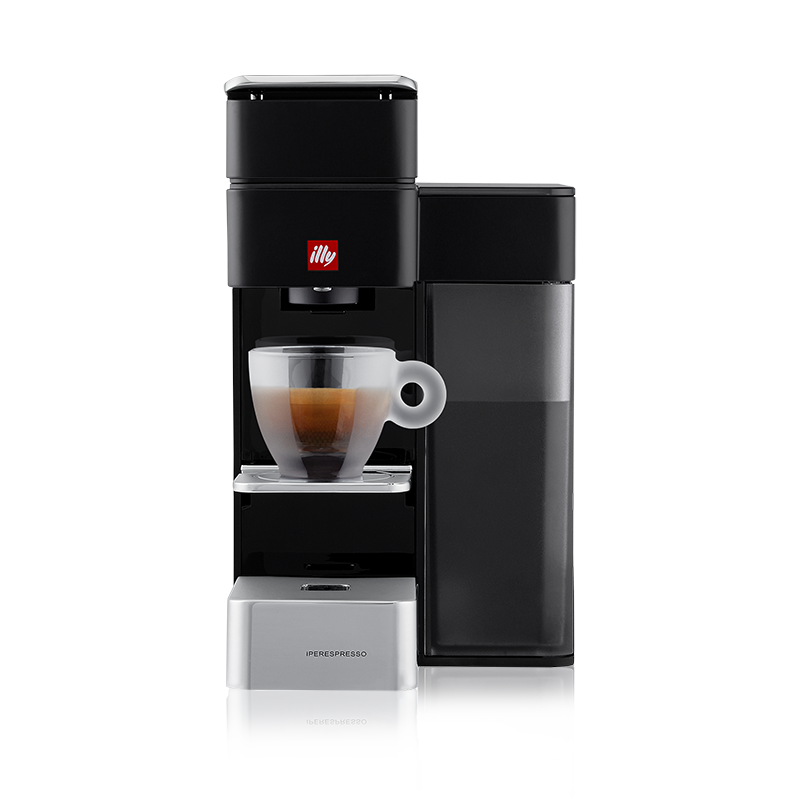 illy Y5 iperEspresso Machine - Espresso & Coffee - Black
