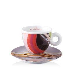 LIU WEI - 6 cappuccino koffiekopjes