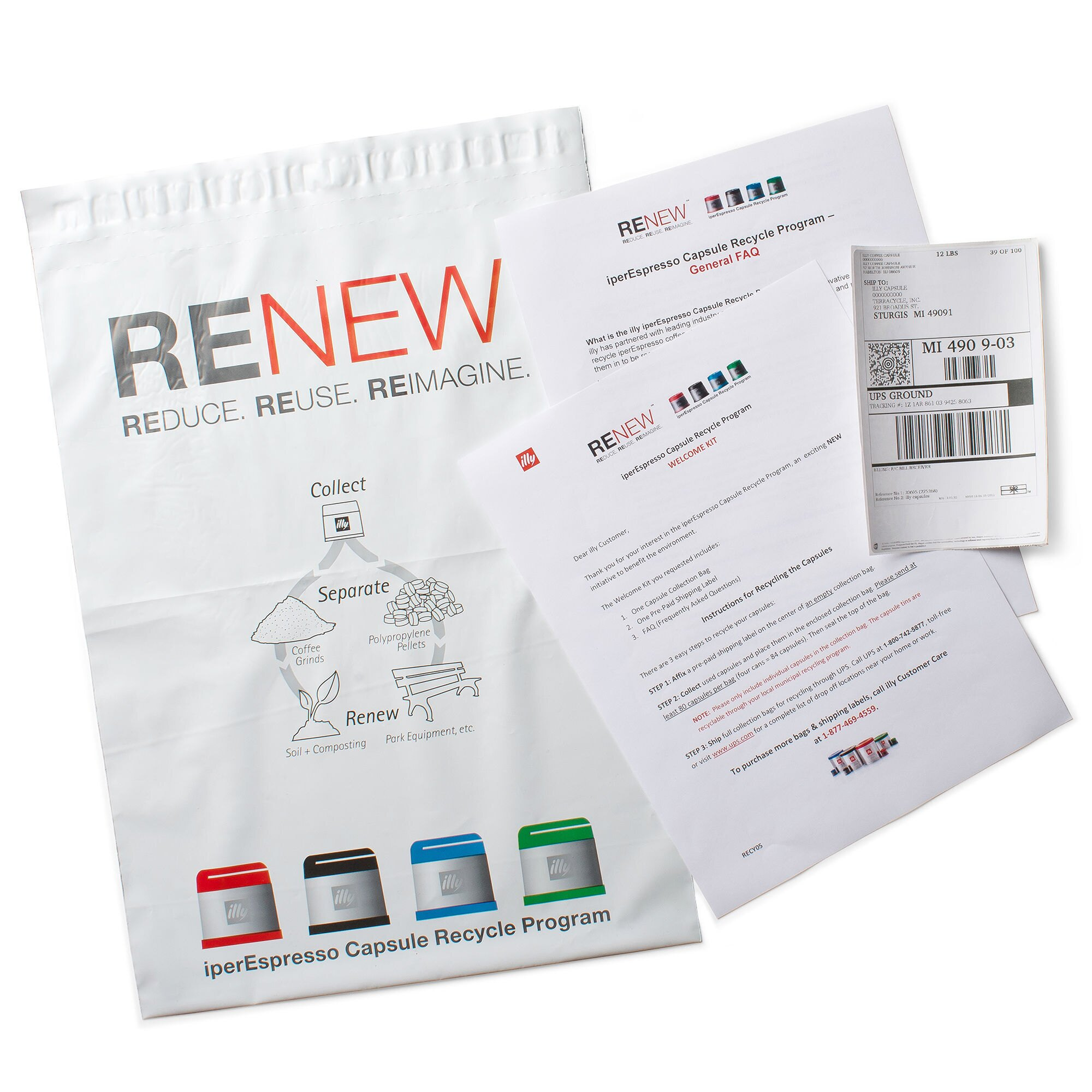 Capsule Recycle Kit Front View