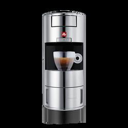 illy X9 iperEspresso Machine - Espresso Capsules - Chrome - center
