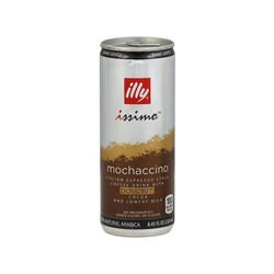 illy issimo Ready-to-Drink Mochaccino front view