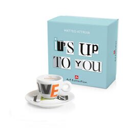 "illy Art Collection Matteo Attruia ""It'S Up tO yOU"" Customizable Set"