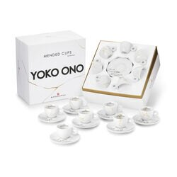 Yoko Ono MENDED CUPS Set Of 7 Espresso Cups
