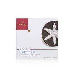 Tavoletta di cioccolato al latte Domori D-Fusion Lattesal e sale da 25gr