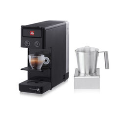 Iperespresso Coffee Machine Y3.2 black Combo with Milk Frother