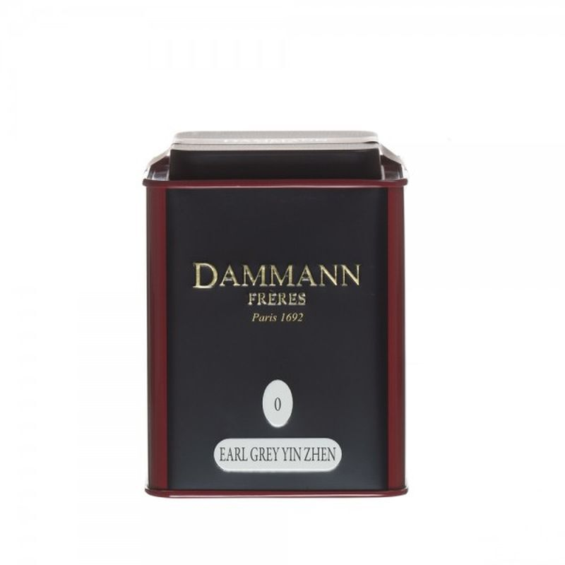 Dammann® Earl Grey Yin Zhen Loose Tea - 3.52oz Tin - illy