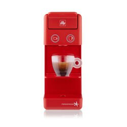 Y3.2 Espresso Coffee Capsule Machine Red front view