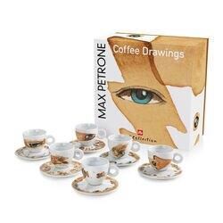 Max Petrone - 6 tazze da caffè cappuccino