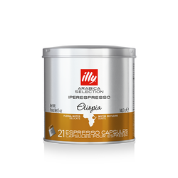 Iperespresso koffie capsules Arabica Selection Ethiopië