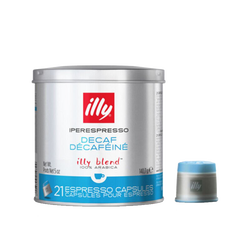 Capsules iperEspresso – Décaféiné Classico torréfaction moyenne – 21 capsules – illy