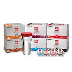 illy Style & Ease On-the-Go K-Cup Bundle