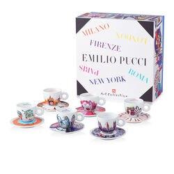 Emilio Pucci - 6 tazzine da caffè cappuccino