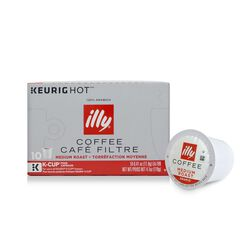K-Cup® Pods - Medium Roast - 10 K-Cup® Pods - illy