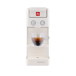 Y3.3 Espresso and Coffee blanca - Máquina de café Iperespresso