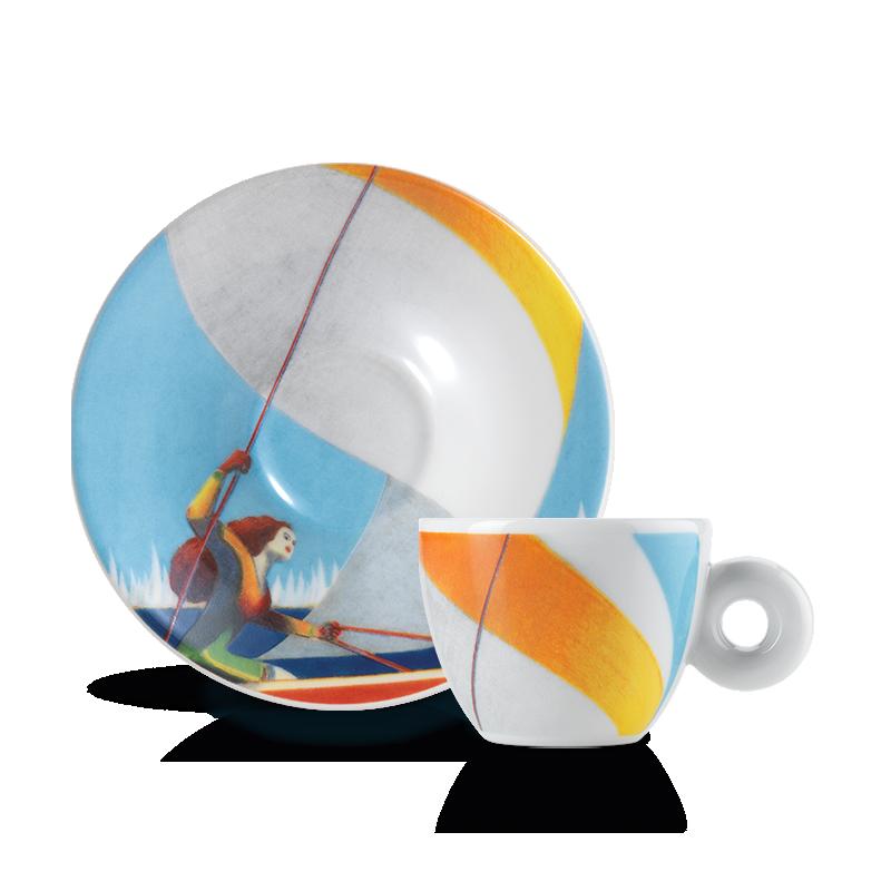 illy Art Collection Lorenzo Mattotti Barcolana 2020 - tazzina da caffè espresso