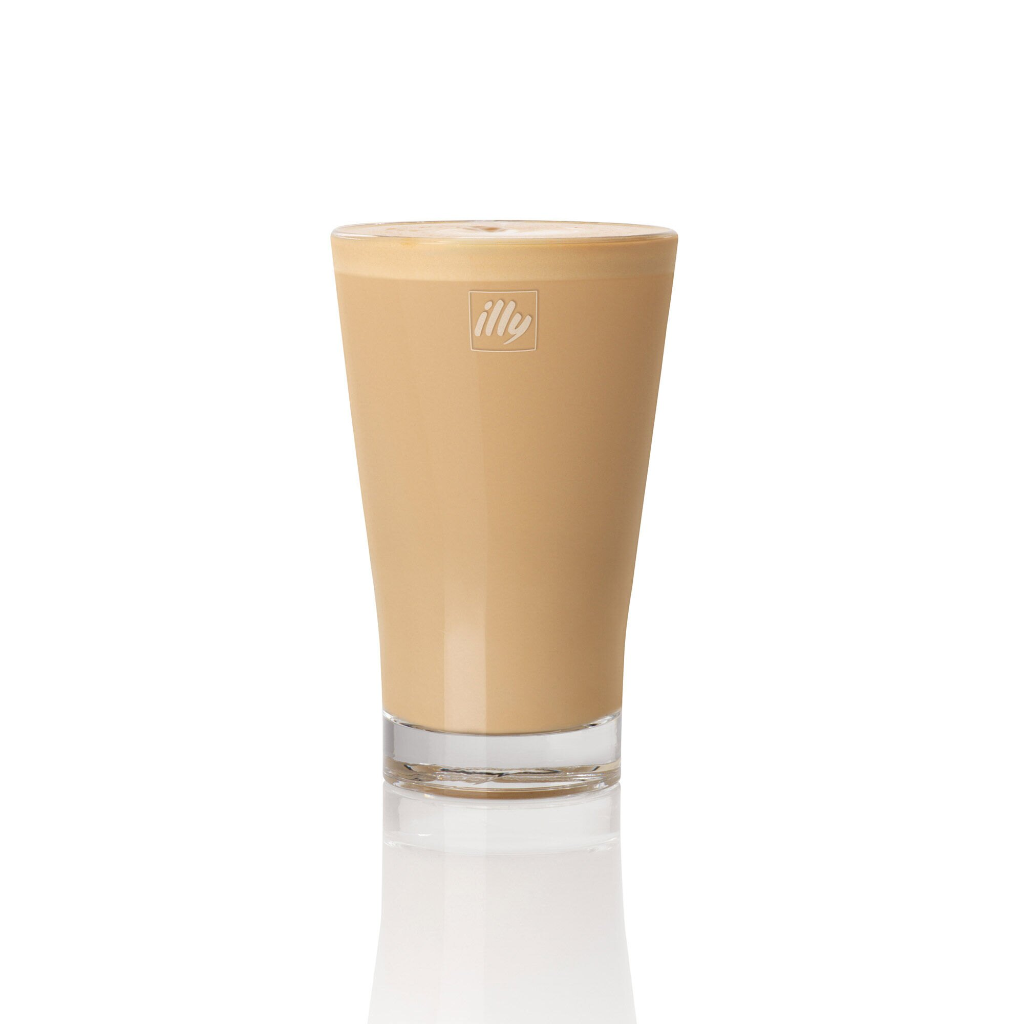 illy Latte Glasses - Set of 6