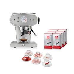 -10% Espressomaschine X1 Trio für E.S.E. Pads Edelstahl mit kostenlosem Startpaket