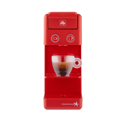 illy Y3.2 iperEspresso Machine - Coffee & Espresso Capsules - Red