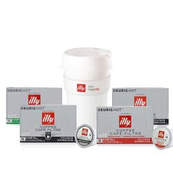 On-the-Go illy K-Cup® Pods Bundle
