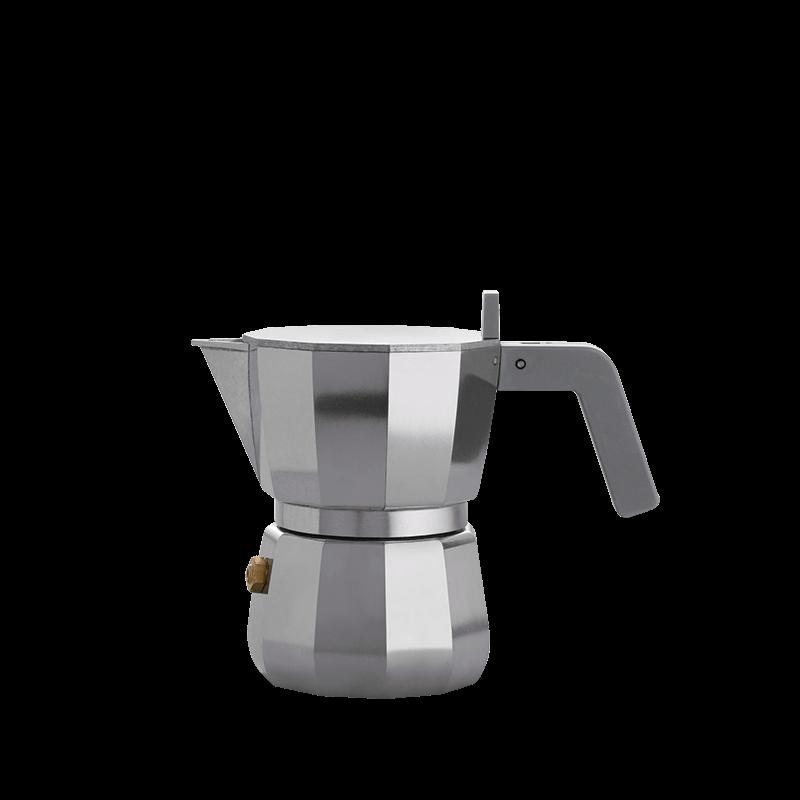 Nuova Moka Alessi - Caffettiera da 1 tazza