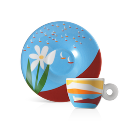 illy Art Collection Olimpia Zagnoli Barcolana Single Espresso Cup