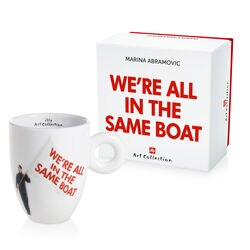 illy Art Collection Marina Abramovic Mug