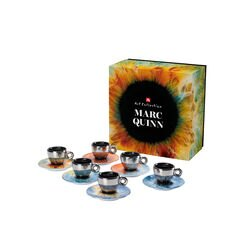 illy Art Collection Marc Quinn Set of 6 Espresso Cups