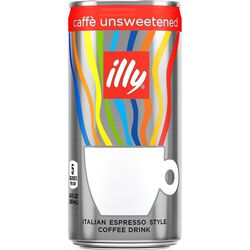 illy Ready to Drink sugar free coffee can front view.